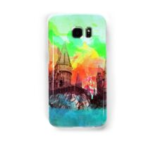 WatercolorHogwarts Samsung Galaxy Case/Skin