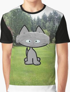 George Washington Cat Graphic T-Shirt