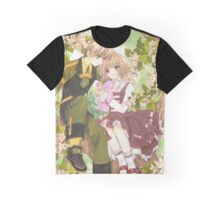 Sakura and Syaoran  Graphic T-Shirt