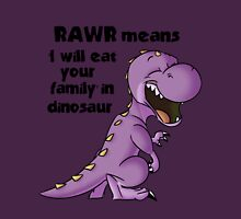 Realistic Dinosaur  Unisex T-Shirt