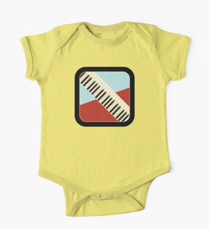 Old Keyboard Sign One Piece - Short Sleeve