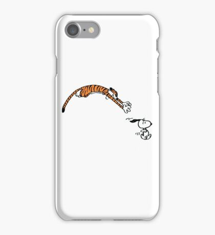 Snoopy And Hobbes iPhone Case/Skin