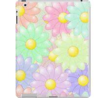 Multi-colored Flower Pop iPad Case/Skin
