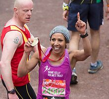 Dame Kelly Holmes by Keith Larby