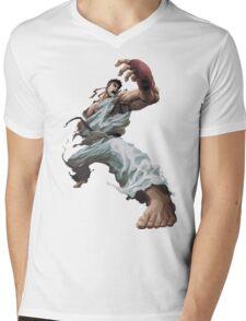 Fight Ryu Mens V-Neck T-Shirt
