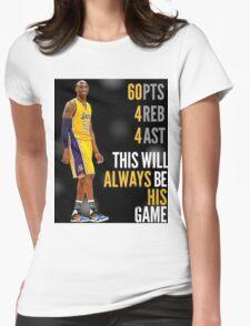 Farewell Kobe Womens Fitted T-Shirt