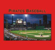 Pirates Baseball Baby Tee