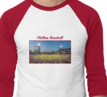 Phillies Baseball Men's Baseball ¾ T-Shirt
