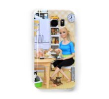 Raw Foods Samsung Galaxy Case/Skin