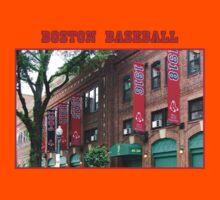 Boston Baseball Kids Tee