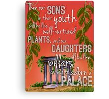 Sons and Daughters Canvas Print