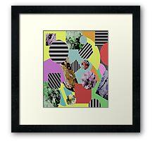 Geometric Chaos Framed Print