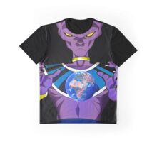 Beerus Destroy Earth Graphic T-Shirt