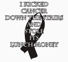 Cancer Bully (Black Ribbon)  One Piece - Short Sleeve