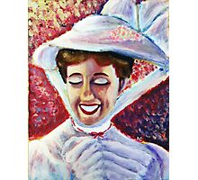 It's Mary Poppins! Photographic Print