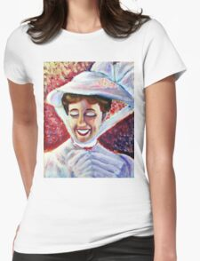 It's Mary Poppins! Womens Fitted T-Shirt