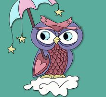 Owl Love and Stars by Kate Trenerry
