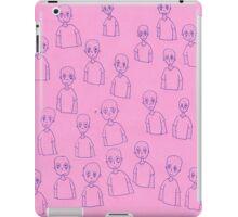 Unsettling Potato Men in Gel Pen iPad Case/Skin