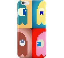 Pixel Pac-Man Ghosts iPhone Case/Skin