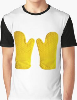 Oven Gloves Yellow Graphic T-Shirt