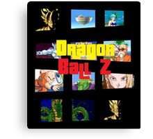 DBZ GTA Canvas Print