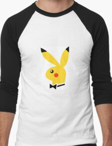 Playboy/pikachu  Men's Baseball ¾ T-Shirt