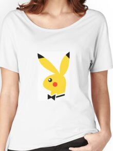 Playboy/pikachu  Women's Relaxed Fit T-Shirt