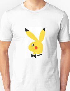 Playboy/pikachu  Unisex T-Shirt