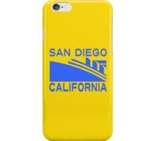 SAN DIEGO CALIFORNIA iPhone Case/Skin