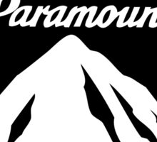 Paramount Pictures - Black Sticker