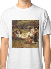 Vintage famous art - Frederick Morgan - The Apple Gatherers Classic T-Shirt