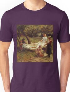 Vintage famous art - Frederick Morgan - The Apple Gatherers Unisex T-Shirt