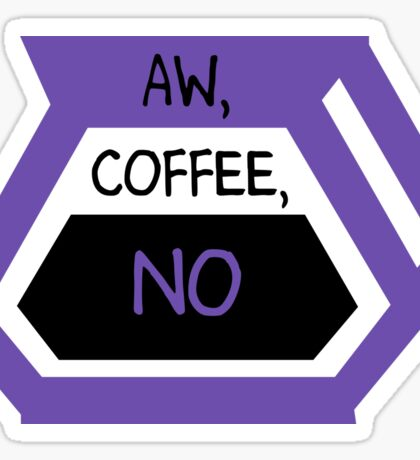 Aw Coffee No Sticker
