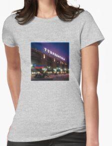 Braves Baseball Womens Fitted T-Shirt