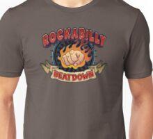 Rockabilly Beatdown (Flaming Fist) Unisex T-Shirt