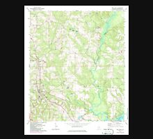 USGS TOPO Map Alabama AL Red Level 304926 1971 24000 Unisex T-Shirt