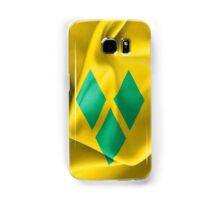 Saint Vincent and the Grenadines Flag Samsung Galaxy Case/Skin