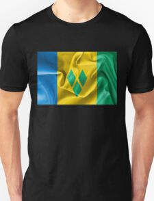 Saint Vincent and the Grenadines Flag Unisex T-Shirt