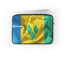 Saint Vincent and the Grenadines Flag Laptop Sleeve