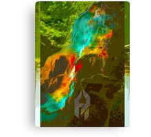 The Fountain of Never. Canvas Print