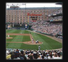 Baltimore Home of Baseball Fever Kids Tee