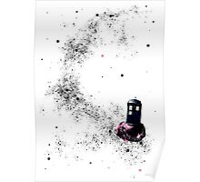 TARDIS into space Poster
