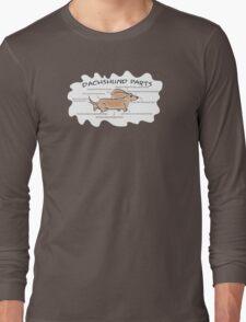 Dachshund Parts Long Sleeve T-Shirt