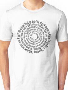 Sal Vulcano quotes (Black text) Unisex T-Shirt
