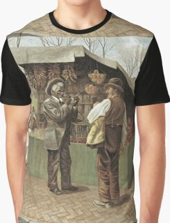 Vintage famous art - George Bacon Wood - The Fifteenth Amendment  Civil Rights Graphic T-Shirt