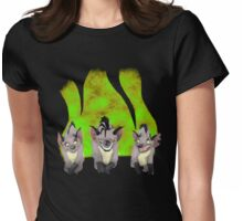 Hyenas Womens Fitted T-Shirt