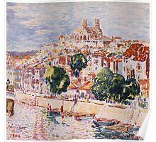 George Benjamin Luks - Verdun, France - French  - French   Landscape Poster