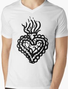 Sacred Heart Tattoo Style 2 T-Shirt