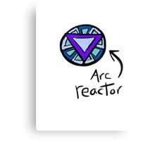 Arc reactor Canvas Print