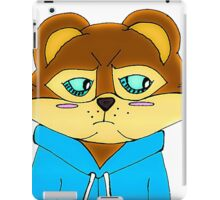 Cagey Coon iPad Case/Skin